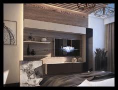 Виготовлення 3D візуалізації дизайну інтер'єру. 2